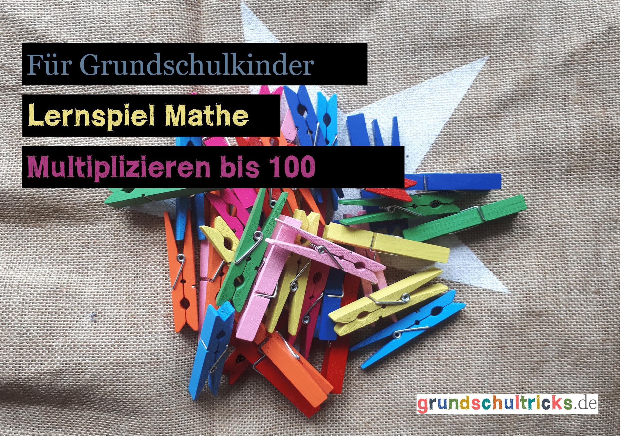 """Trick 64 ✱ Lernspiel Mathe """"Das kleine 1×1"""""""