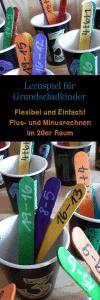 Lernspiel Mathe Grundschule Plus- und Minusrechnen im 20er Raum