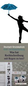 Lernspiel Deutsch Grundschule Rechtschreibung Groß- und Kleinschreibung