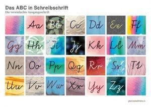 Die vereinfachte Ausgangschrift Deutsch Grundschule