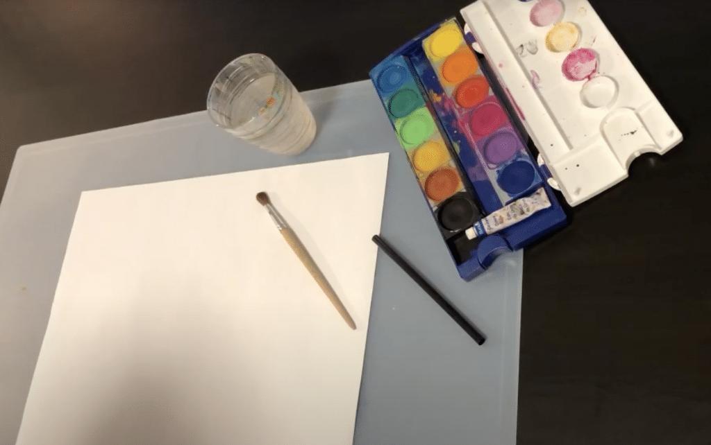 Kunst - Farbkleckse (01 - Benötigt)