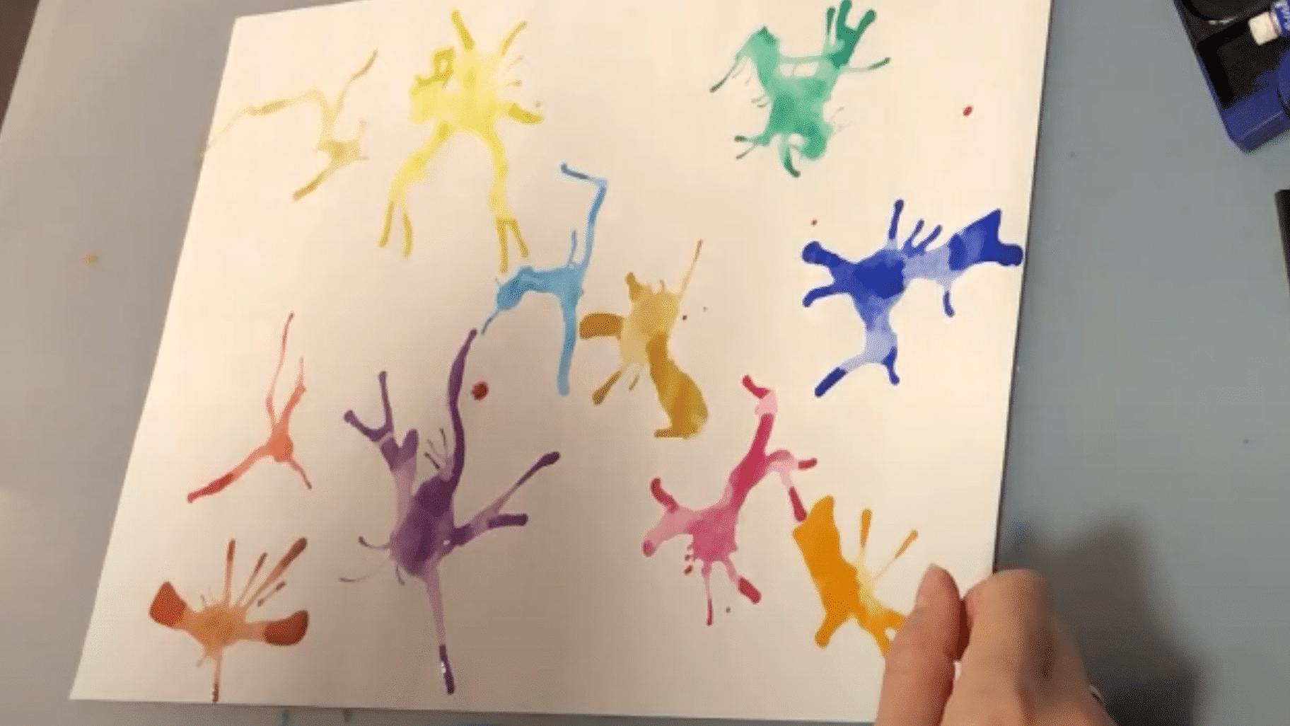 Kunst - Farbkleckse - Schritt 3 (02)